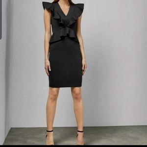 Nwt Ted Baker  Alair peplum body con dress